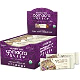 GoMacro MacroBar Mini Organic Vegan Snack Bars - Peanut Butter Chocolate Chip (0.9 Ounce Bars, 24 Count)