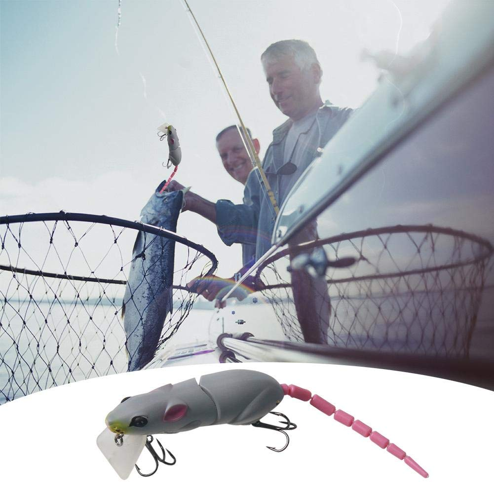 WinnerEco Artificial Fishing Lure Plastic Minnow Mouse Lure Swimbait Rat Fishing Bait