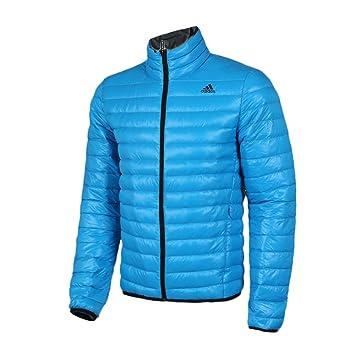 daunenjacke herren winter blau adidas
