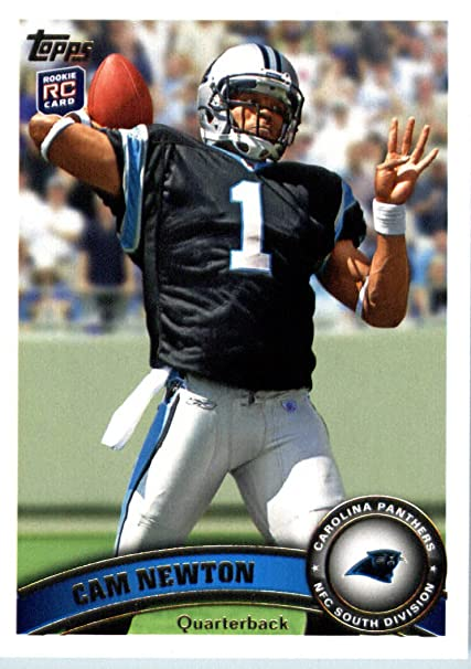 2011 Topps Football Card 200 Cam Newton Rc Stands In Background Carolina Panthers Rc Rookie Card Nfl Trading Card In A Protective Case