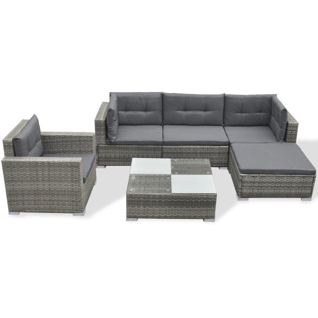 Excellent Poly Rattan Garten Sofa Set Gartenmbel Lounge Sitzgruppe Online  Kaufen With Lounge Sitzgruppe.