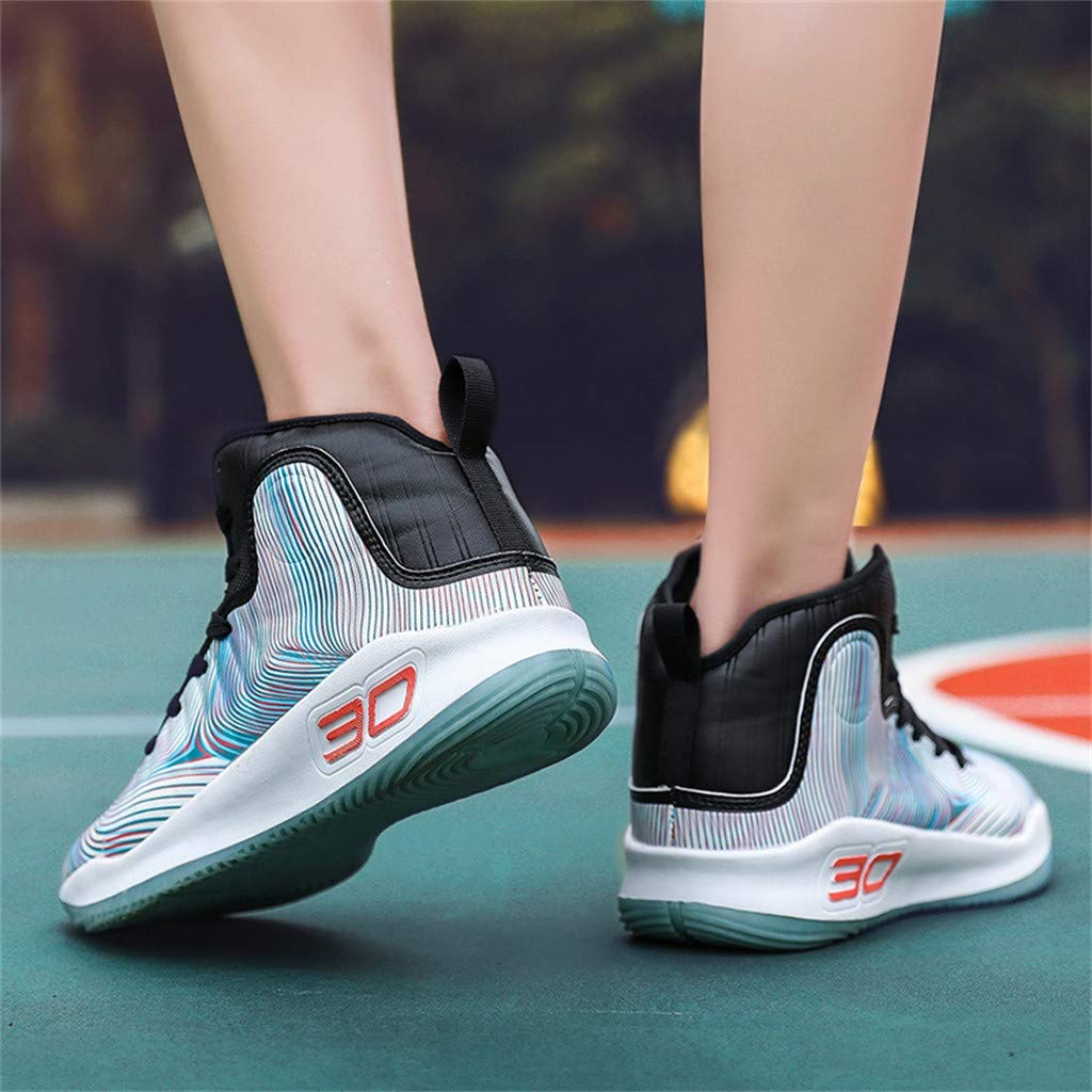 Amazon.com: Mens Sports, Sharemen Basketball Shoes High to Help Breathable Shoes Wear-Resistant Shock Sneakers Casual Lace-Up Shoes: Clothing