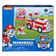 Paw Patrol Marshall's Transforming Fire Truck with Pop-out Water Cannons, for Ages 3 and Up