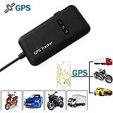GPS Tracker TKSTAR Traceur Véhicule en Temps Réel Localisateur GPS/GSM/GPRS/SMS Traceur Antivol Voiture Moto Vélo GT02A