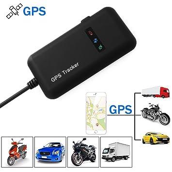 GPS Tracker Auto Camión Vehículo Motocicleta Rastreador GPS Tiempo Real: Amazon.es: Electrónica