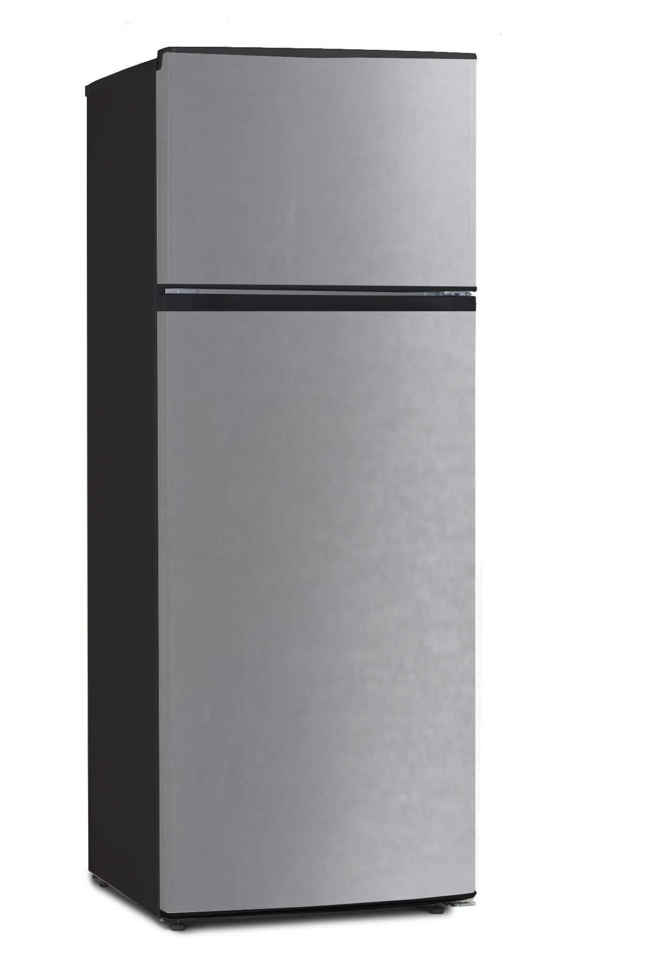 Equator-Ascoli 7.3 cu.ft. Refrigerator-Top Freezer Stainless by Equator-Ascoli