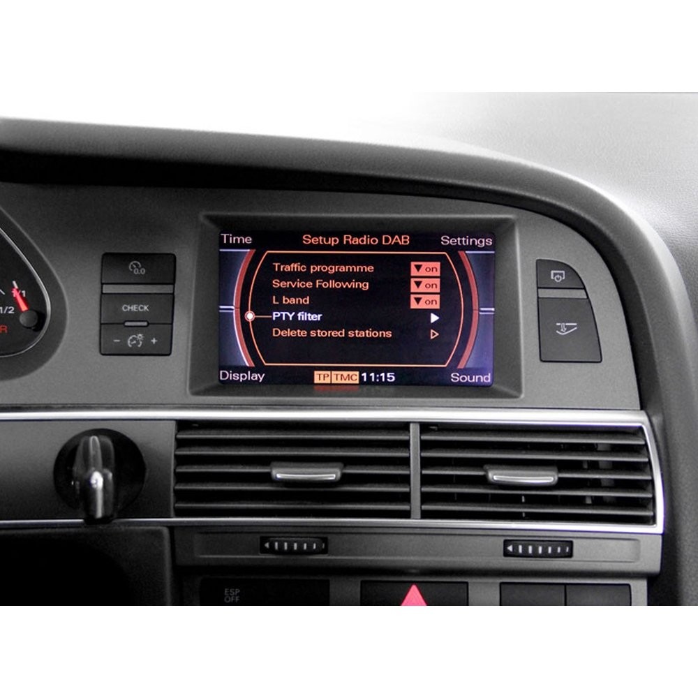 DAB Kufatec 39531-4 DAB FISTUNE Antennenmodul für Audi A4 8K Avant