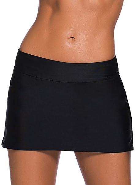 Amazon.com: Itsmode - Falda de natación para mujer, talla ...