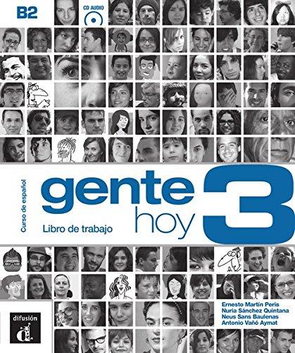Gente hoy 3 (B2): Libro de trabajo + Audio-CD (MP3)