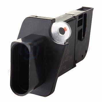eccpp masa Sensor de flujo de aire Medidor Sensor de alambre caliente AFM MAF para Audi A3, A4 y Volkswagen Jetta Passat 2006 2007 2008: Amazon.es: Coche y ...