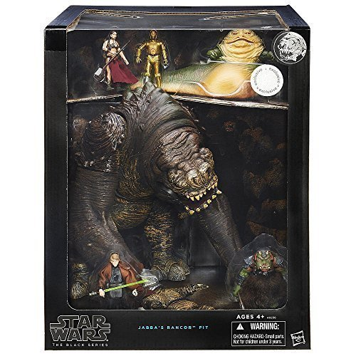 Star Wars, 2015 The Black Series, Jabba's Rancor Pit Exclusive Set