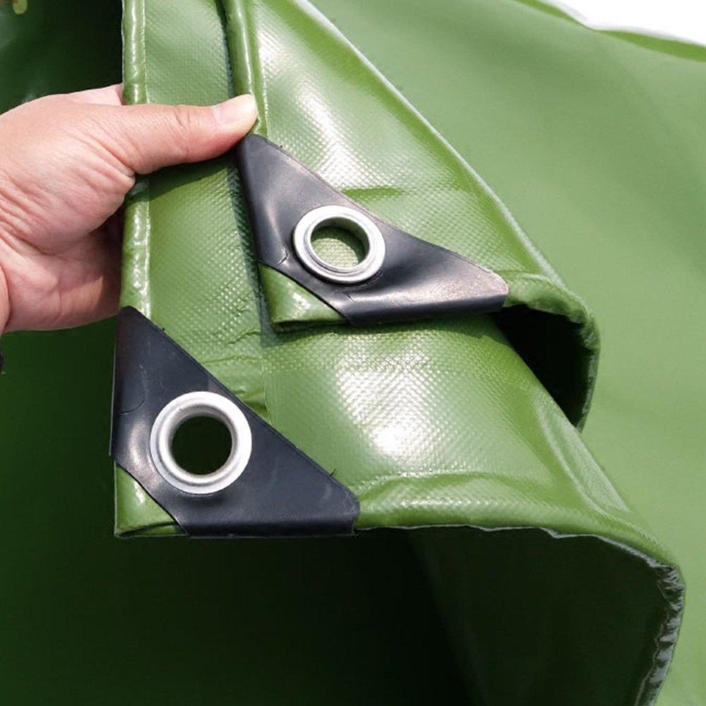 LIANGJUN オーニング 増粘 PVCコーティング 日焼け止め 防水 シェードクロス キャンバス アウトドア 650g/m²、 6サイズ、 使用可能な5色 ( 色 : 緑 , サイズ さいず : 3X5m ) B07CP6J83W 3X5m|緑