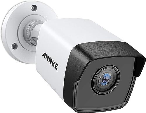 ANNKE 5MP PoE Security Camera 2560×1920 Super HD Bullet IP Cam