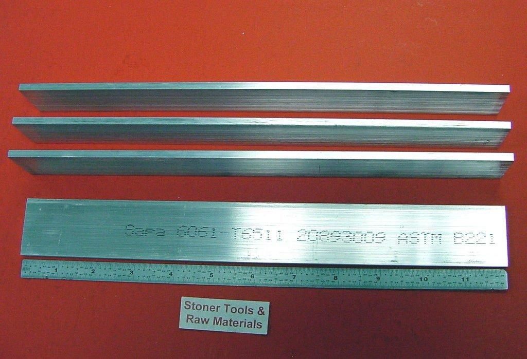 """1-1//2/"""" x 5/"""" x 60/""""-Long 6061 T6511 Aluminum Flat Bar--/>1.5/"""" x 5/"""" 6061 Flat Bar"""