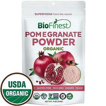 Schlankheits-cremes Usda Und Ec Certified Organic Granatapfel Saft Pulver
