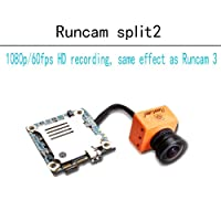 Runcam Split 2 1080p/60fps HD Recording + WDR (FPV Camera DC 5 V 17 V NTSC PAL support 64G TF WiFi for RC Drohnen Quadcopter
