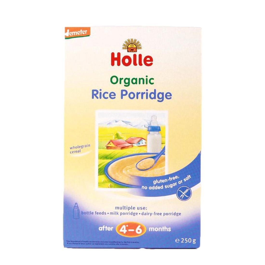 Holle Dem Cereal Rice Porridge 250G by HOLLE