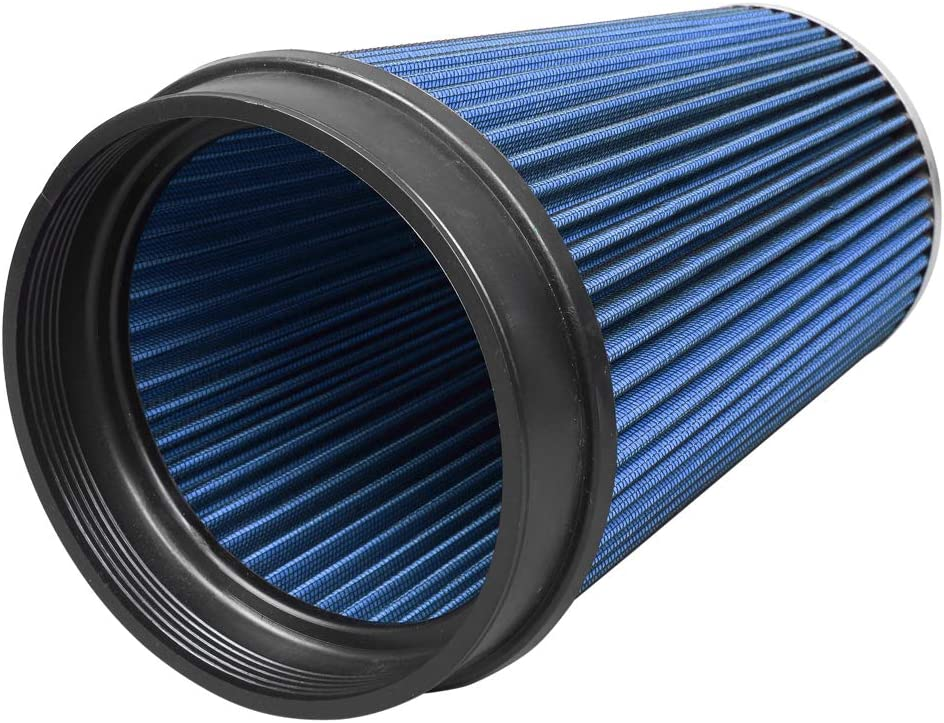TRIL GEAR 4 Cold Air Intake Induction Filter Kit Fit for 02-06 Cadillac Escalade 99-06 GMC//Chevrolet V8 4.8L//5.3L//6.0L Blue