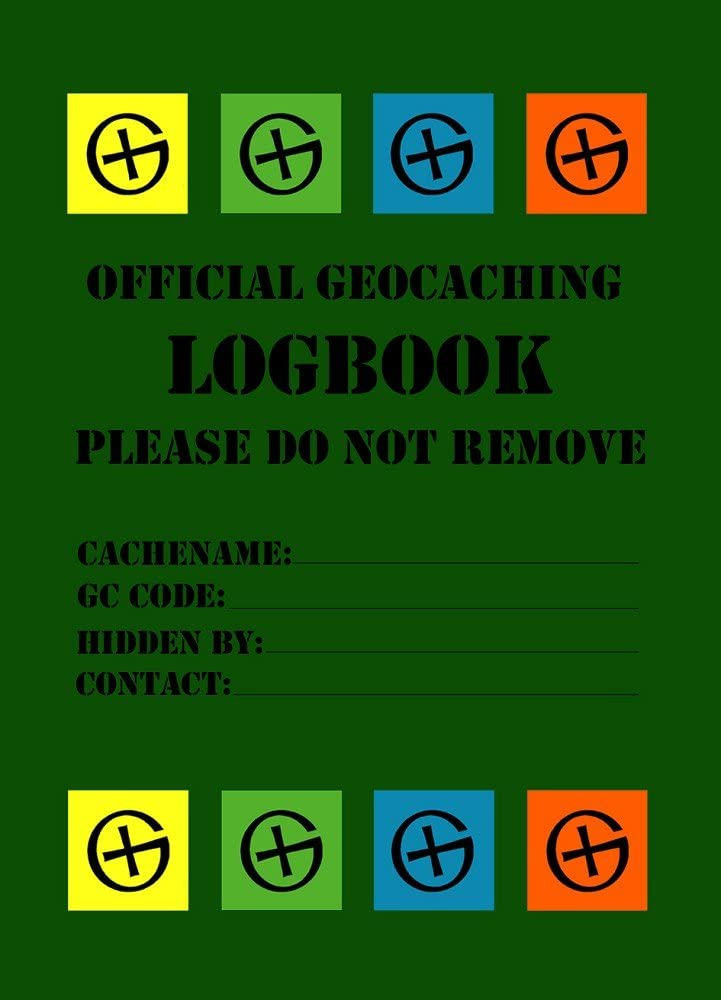 Geo Shipping 10/DIN A7/Dose Log Log Book English