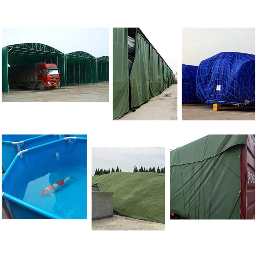Zhihui Zeltplanen ZZHF pengbu Tarps, Tarps, pengbu Plane, 5m x 6m Plane, geeignet für LKW, Dreiräder, Zelt Tops, Grün (Farbe : Grün, größe : 2m3m) ac9b1b
