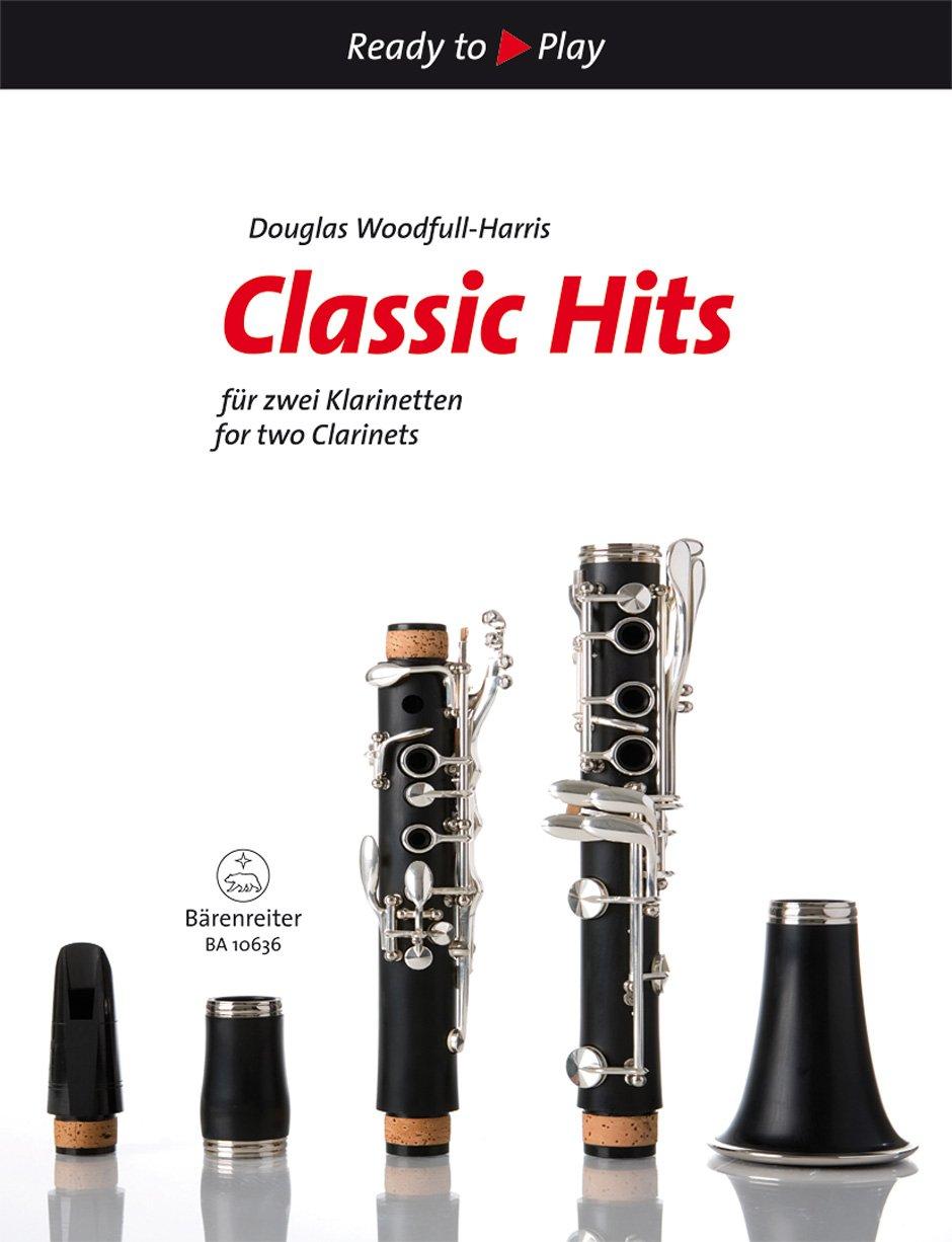 Classic Hits für zwei Klarinetten. Ready to Play. Spielpartitur(2), Sammelband