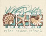 Arts & Crafts : Dimensions Needlecrafts Punch Needle, Seashells