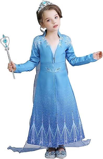 Disfraz de niña Elsa - carnaval - disfraces para niña - halloween ...