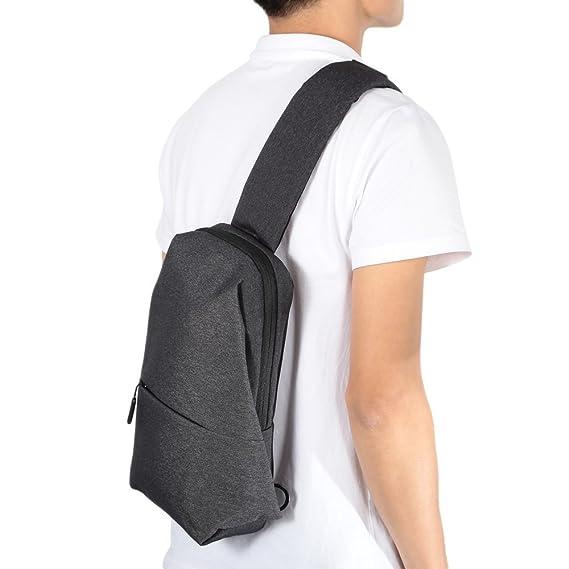HAPQIN Original Xiaomi 4L Polyester Sling Bag para Deportes de Ocio: Amazon.es: Deportes y aire libre