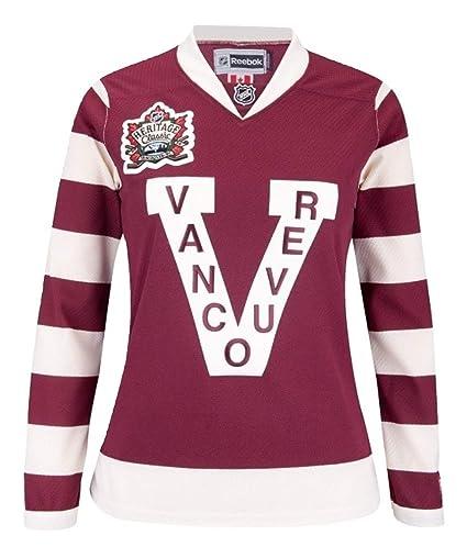 quality design a0bb9 0065d RBK NHL Vancouver Millionaires Edge Semi-Pro Womens Small ...
