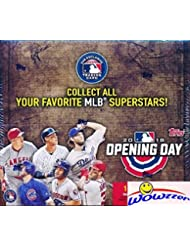 2018 Topps Opening Day MLB Baseball MASSIVE Factory Sealed HOBBY Box with 36 Packs & 252 Cards! Includes 1 Insert in EVERY PACK! Look for Autographs, Relics & Shohei Ohtani ROOKIE Cards! ON FIRE!