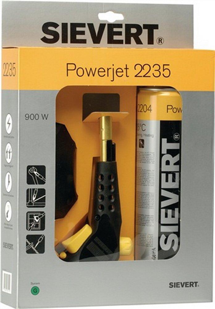 Sievert L/ötlampe PowerJet 1925 /°C incl Gasflasche