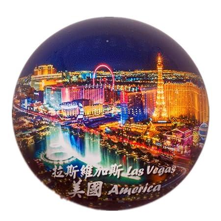 Weekinglo Souvenir Las Vegas EE. UU. América Imán de Nevera Ciudad ...