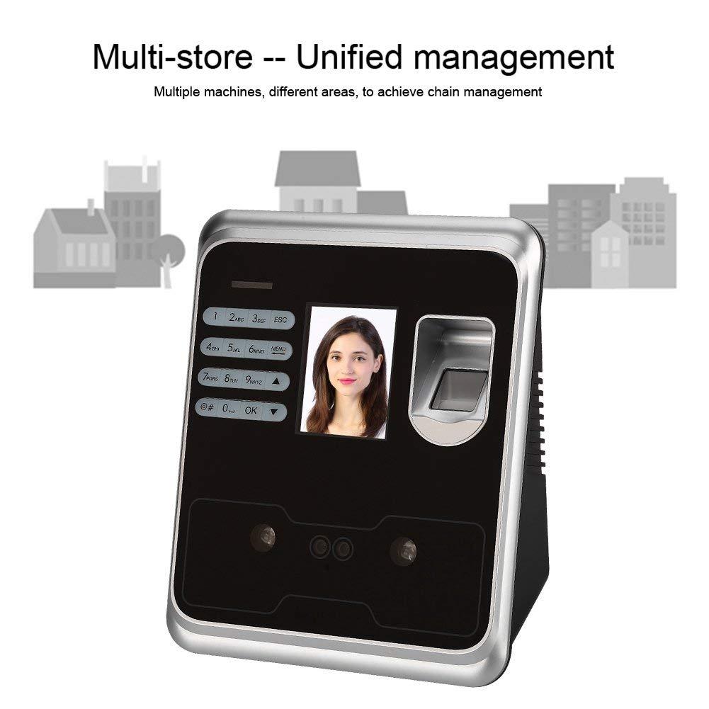 Color TFT Screen Wireless Time Recorder Clocking 110-240V Attendance Machine,2.4inch Face Recognition Fingerprint Attendance Machine