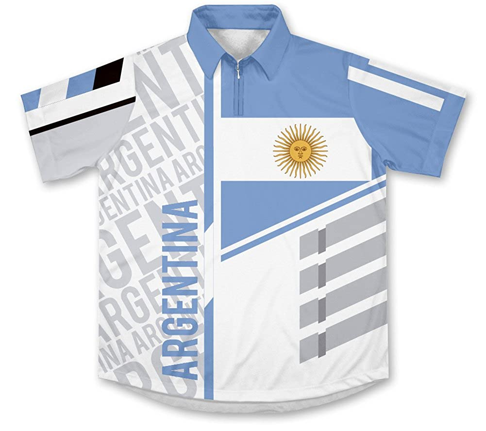 ScudoPro Argentina Technical Polo Shirt Camiseta: Amazon.es: Ropa ...