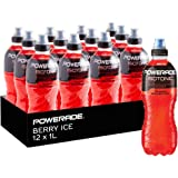 Powerade Berry Ice Sports Drink 12 x 1L