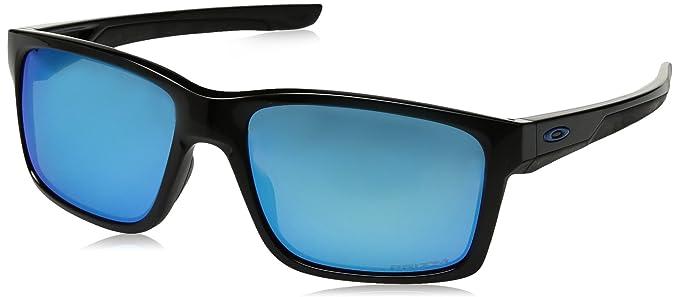 Oakley Herren Sonnenbrille »MAINLINK OO9264«, schwarz, 926430 - schwarz/blau