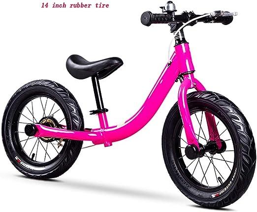 YUMEIGE Bicicletas sin Pedales Balance Bike para niños con Rueda ...