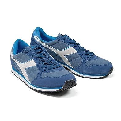 ac94a5277b0ebb Diadora Model K Run Men Shoes Sneaker C WH Navy Saltire Size: 13 ...