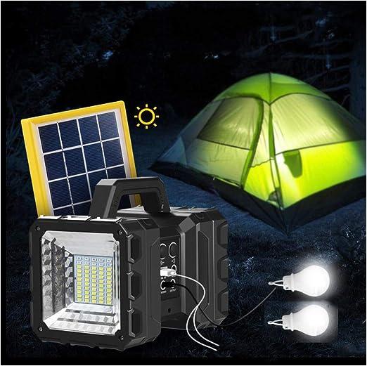 Reflector de mano con LED solar recargable, de alta potencia súper ...