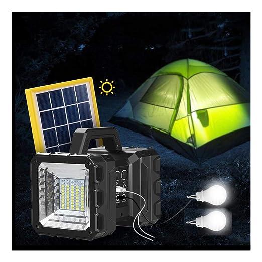 Reflector de mano con LED solar recargable, de alta potencia ...