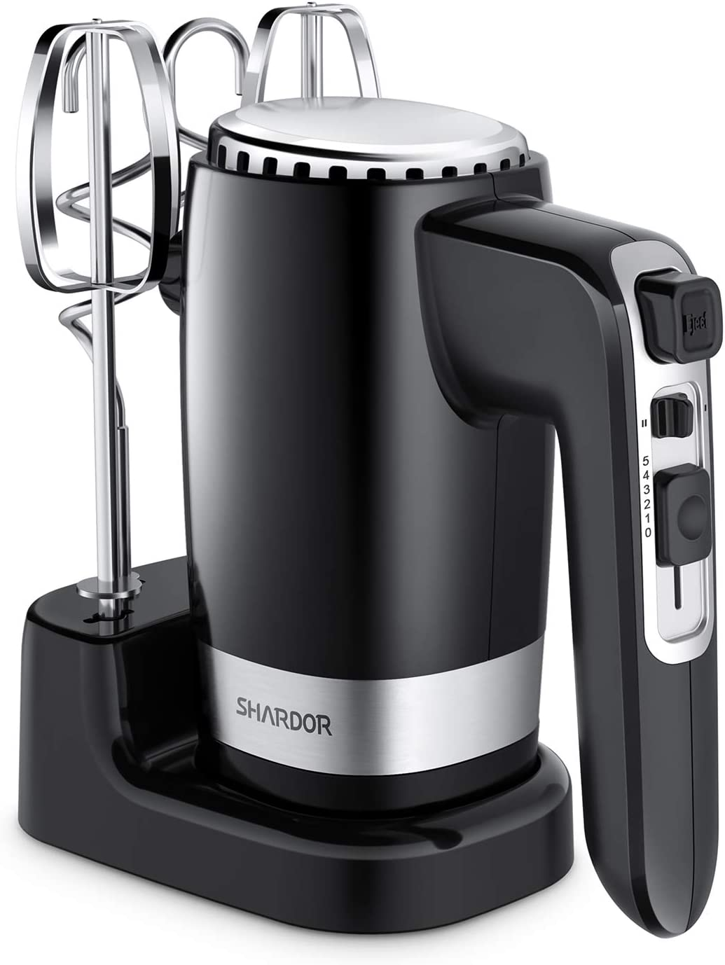 SHARDOR Hand Mixer Powerful 300W Ultra Power Handhold Mixer Electric Hand Mixers with Turbo Heavy Duty Motor