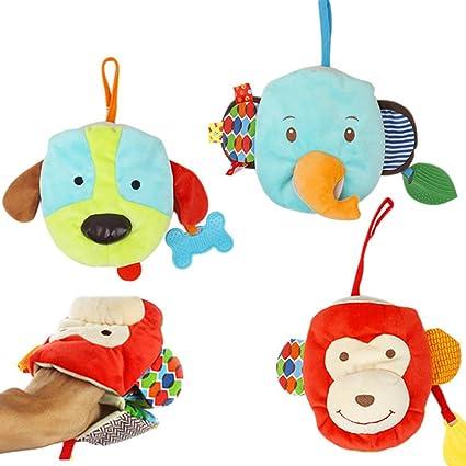 Hemore - Juguete para bebé con asiento de coche, juguete para colgar en espiral,