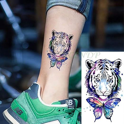 tzxdbh 5Pcs-Impermeable Etiqueta engomada del Tatuaje Temporal ...