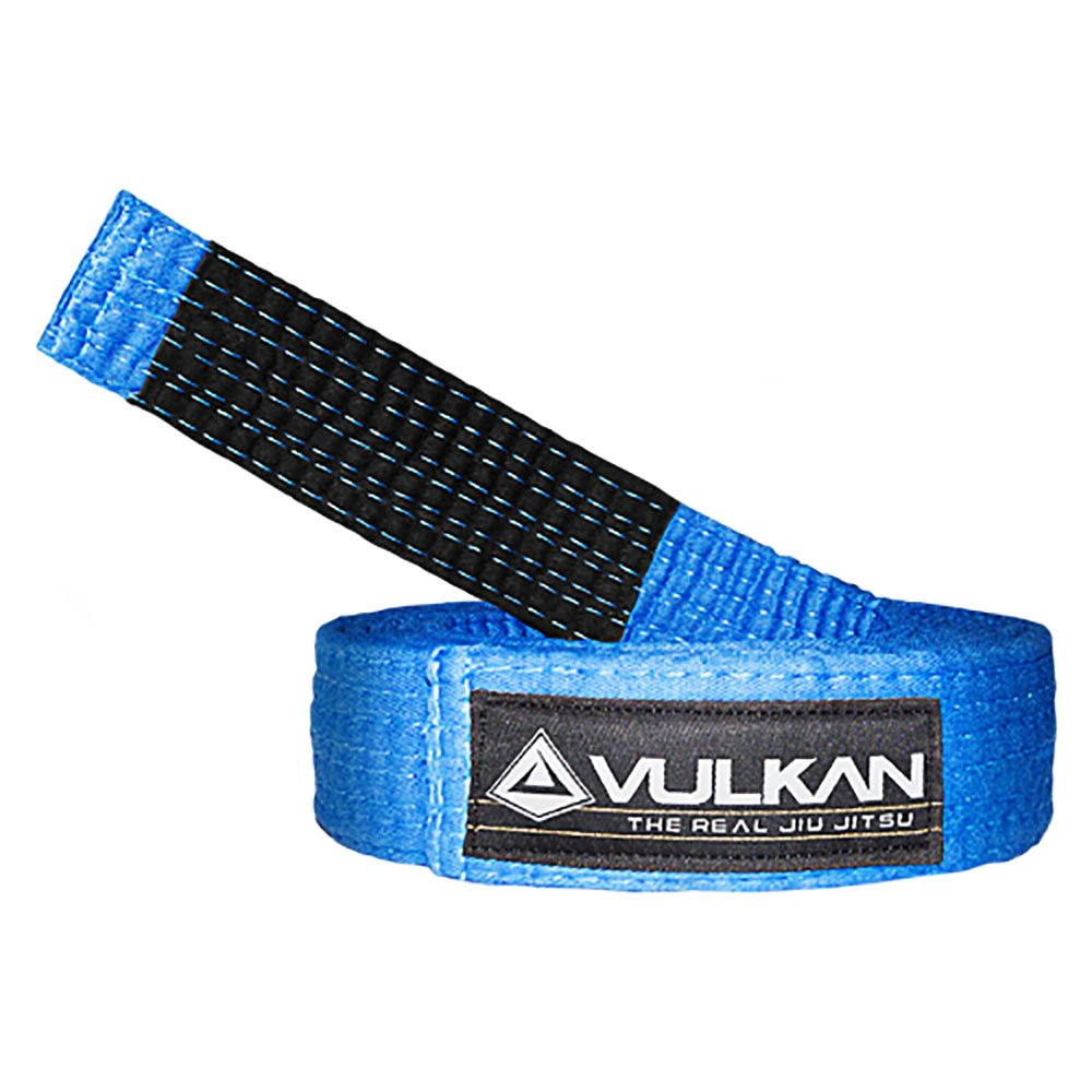 Vulkan Fight Company Brazilian Jiu Jitsu, BJJ Belt for Martial Arts Sports, Blue, A5 by Vulkan