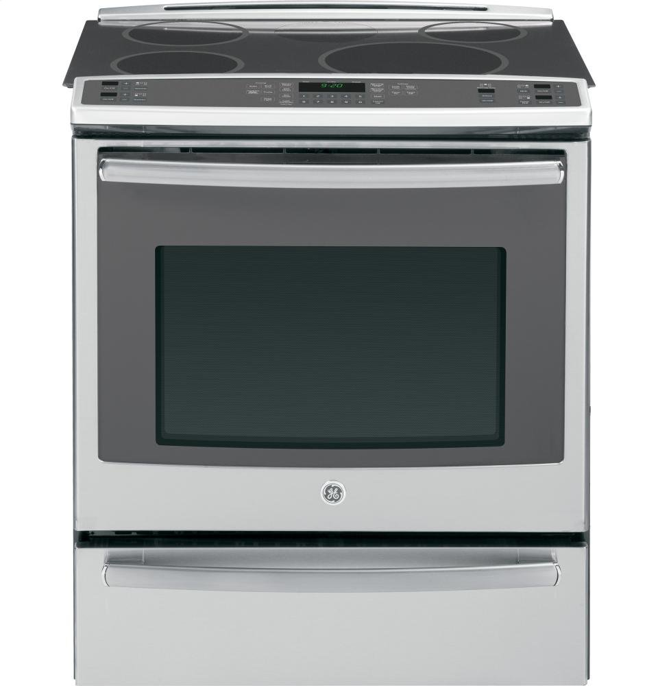 """Amazon.com: GE PHS920SFSS Profile 30"""" Stainless Steel Electric Slide-In  Induction Range - Convection: Appliances"""