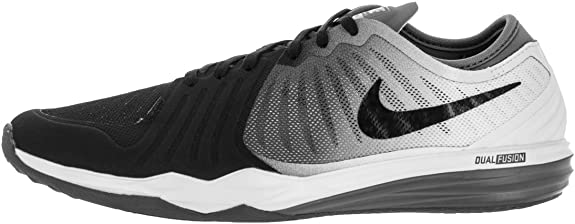 Rebelión Compra danés  Nike Dual Fusion TR 4 Print W - 819022003 - Color White-Black - Size: 7.0:  Amazon.co.uk: Shoes & Bags