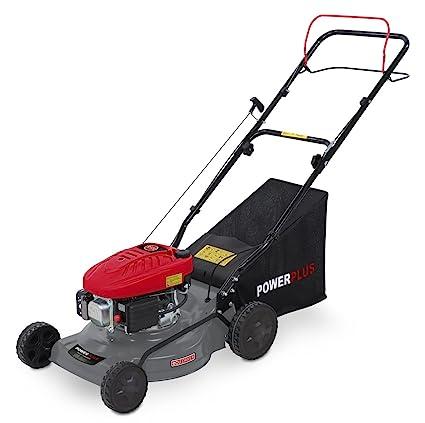 Powerplus POWEG63772 Walk behind lawn mower Gasolina Negro, Gris, Rojo cortadora de césped -