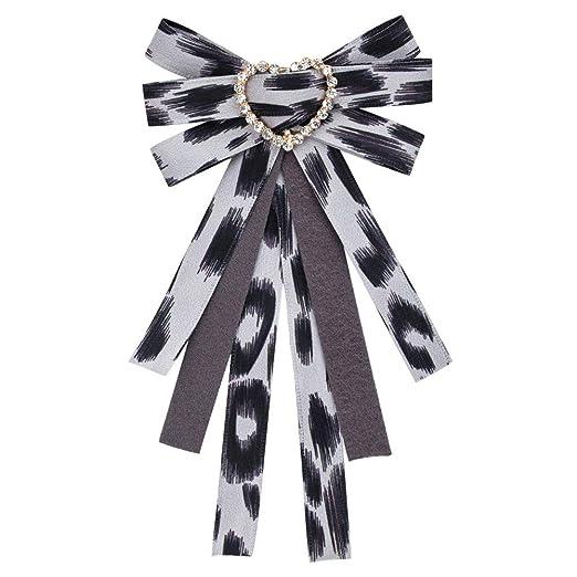 Neckchiefs Cristal de la Mujer Bowknot Corbata Broche para la ...