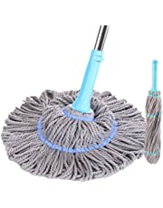 Professional Plus Microfiber Twist Mop Keeps Hands Dry with This Sturdy Mop,#C2