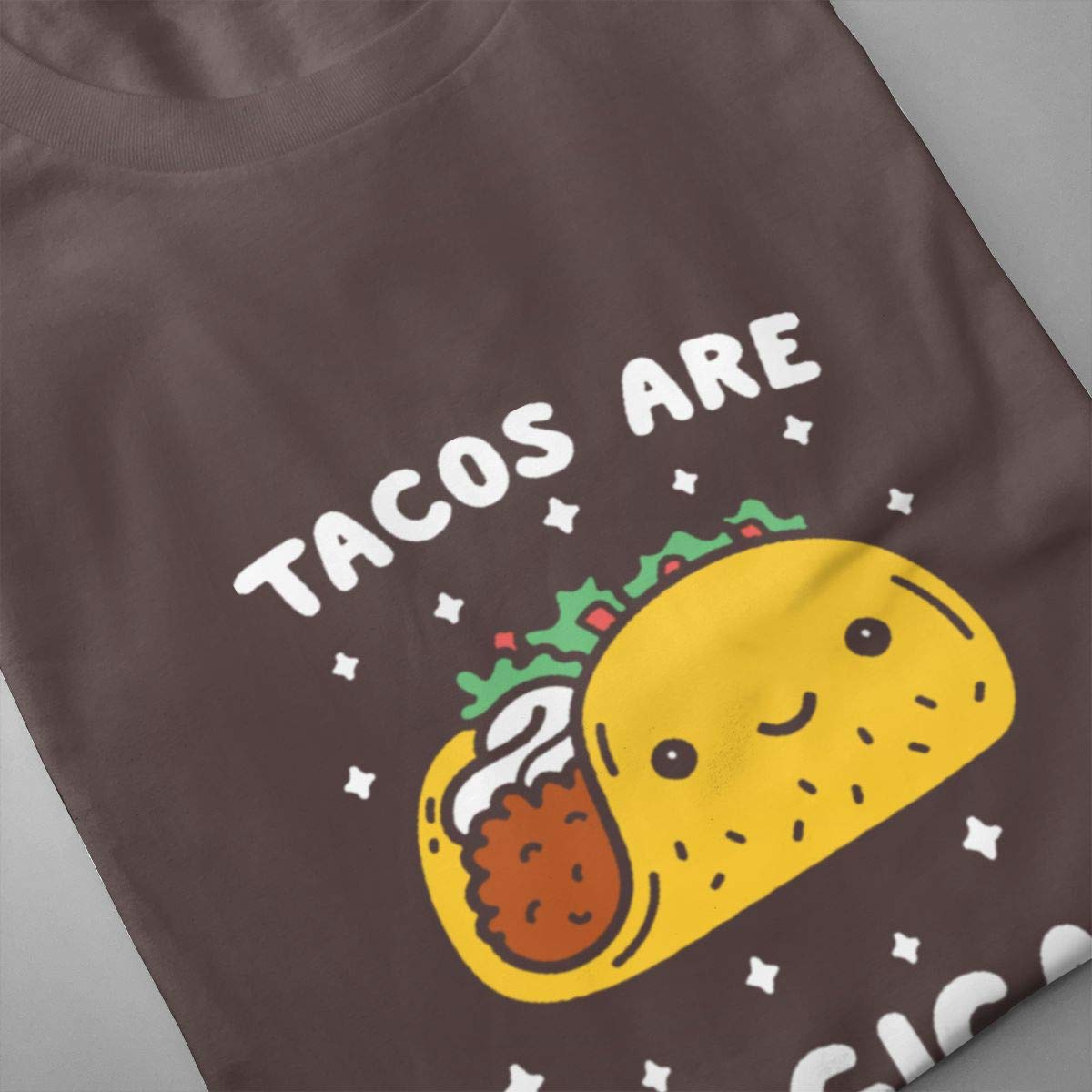 Seuriamin Tacos are Magical Mens Fashion Tennis Short Sleeve Shirt
